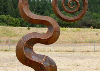 """Serpent Spiral"" by Diego Harris"